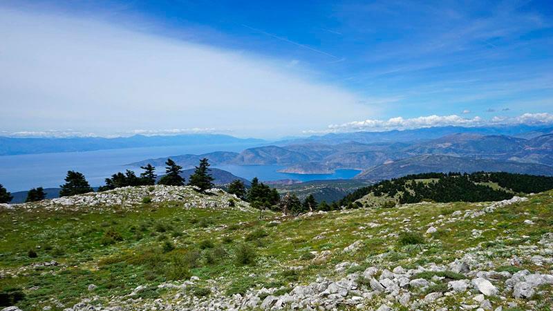 Ελικώνας το βουνό των Μουσών