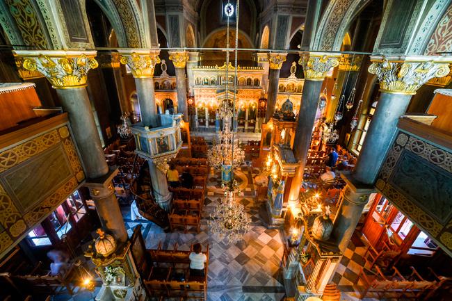 Ιερός Ναός Αγίου Δημητρίου – Μεγάλης Παναγιάς Θηβών