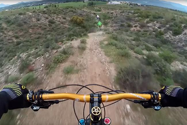 Mountain bike στην Θήβα